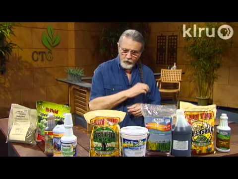 Feeding plants naturally|John Dromgoole|Central Texas Gardener