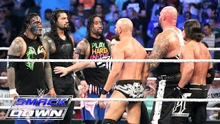Roman Reigns & The Usos vs. AJ Styles, Gallows & Anderson - Six-Man Tag Team: SmackDown, May 5, 2016
