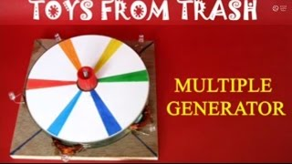 getlinkyoutube.com-MULTIPLE GENERATOR - TAMIL - Light four LED's in one go!