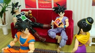 getlinkyoutube.com-MILK 1 ♥♥LA TRANSFORMACIÓN DE MILK♥♥ - Dragon ball (parodia) - Foto comic - Stopmotion figuarts