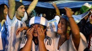 Argentina celebra el pase a su quinta final en la Copa del Mundo