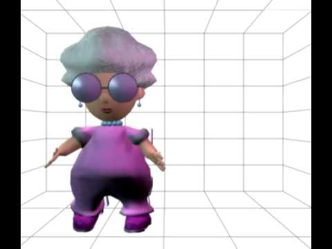Robert Egnacheski - Female 3D Character Walk Cycle Animation Test