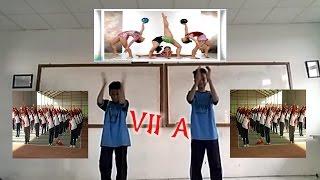 Senam Ritmik SMP 7 Tangerang