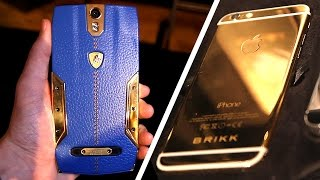 getlinkyoutube.com-$6300 Lamborghini Android Phone + $10,000 Fully Encrypted Gold iPhone 6!