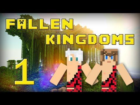 Fallen Kingdoms 2 : Frigiel & Ectalite   Jour 1 - Minecraft