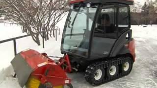 getlinkyoutube.com-Dave LaLena shows off coolest snow plow mower ever made!