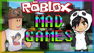 getlinkyoutube.com-Roblox - Jogando MAD GAMES com o Godenot.