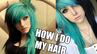 getlinkyoutube.com-How I Do My Emo/Scene Hair | Alex Dorame