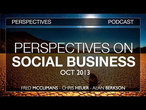 PERSPECTIVES 003: Social Business w Chris Heuer