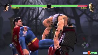 getlinkyoutube.com-Mortal Kombat vs. DC Universe Gameplay PS3 HD (GodGames Preview)