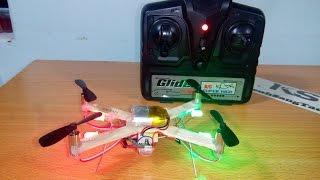 getlinkyoutube.com-Quadcopter mini test version1 failed
