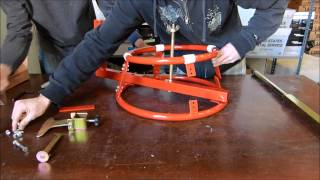 getlinkyoutube.com-Motorcycle Tire Changer Assembly - GENSSI