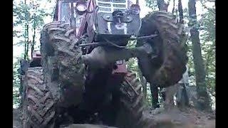 getlinkyoutube.com-Profesionalac za traktor , IMT 589 , Izvlacenje drva , Professional on tractor