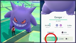 getlinkyoutube.com-WHAT HAPPENS IF YOU CATCH 100 GENGARS In Pokemon Go?! EVOLVE GENGAR?