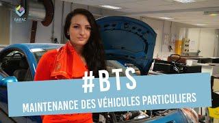Anne Marchand 2ème année de BTS Maintenance des véhicules au GARAC