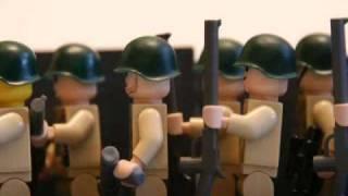 getlinkyoutube.com-Lego WWII Omaha beach (WIP)