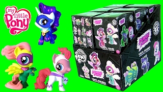 getlinkyoutube.com-My Little Pony Power Ponies Mystery Minis Vinyl Figures FULL CASE Opening by Funtoyscollector