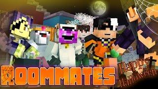 "getlinkyoutube.com-Minecraft ROOMMATES! - ""TRICK OR TREATING"" Halloween Special! (Minecraft Roleplay)"