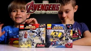 getlinkyoutube.com-2 Great Lego Sets: Lego Super Heroes Marvel Avengers and DC​​​
