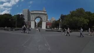 getlinkyoutube.com-Washington Square Park in 360