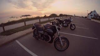 getlinkyoutube.com-Moto Guzzi 750 Breva & Suzuki 600 Bandit #moto 2