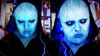 getlinkyoutube.com-Electro - The Amazing Spiderman 2 - Makeup Tutorial!