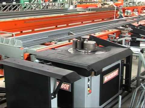 Máquina automática para dobrar aço Schnell mod. Monorobot