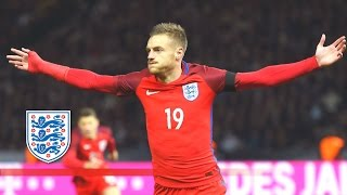 Amazing Jamie Vardy Back Heel Goal   Germany 2 3 England | Goals & Highlights
