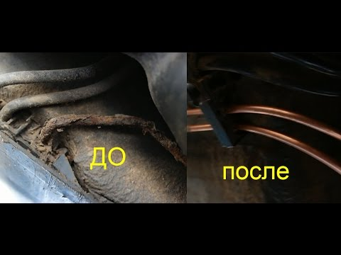 Замена тормозных трубок рено меган 2