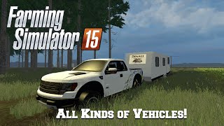 getlinkyoutube.com-Farming Simulator 15: Mod Spotlight #85: All Kinds of Vehicles!