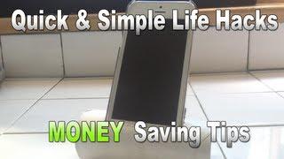 Quick & Simple Life Hacks 9 - Money Saving Tricks