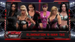 WWE 2K17 Entrances for Luna Vachon, Nia Jax, Awesome Kong VS Natalya Neidhart, ODB, Chyna