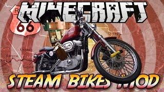 getlinkyoutube.com-Minecraft ITA - Mod: MOTO & TAGLIAERBA // Steam Bikes Mod
