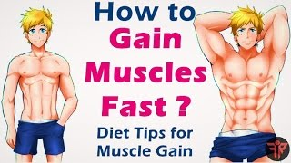 getlinkyoutube.com-How to gain muscle fast | bodybuilding muscle gain diet tips  | Hindi | Fitness Rockers