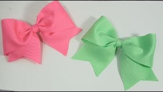 getlinkyoutube.com-How to make Large Elegant Boutique Hair Bow