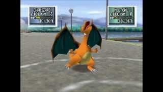 getlinkyoutube.com-Ash's Pokemon teams Kanto vs Johto (difficulty: Hard, lv 100s) Pokemon Stadium 2 Part 1