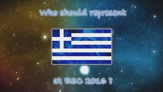 getlinkyoutube.com-Eurovision 2016 | Greece | Who Should Represent Us | Vote | ESC 2016