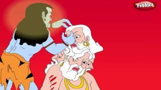 getlinkyoutube.com-Brahma's 5th Head | Lord Shiva Stories in English | Shiv Parvati Miracles | Shiva Tandav