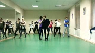 getlinkyoutube.com-Trouble Maker - HyunA & JS cover dance practice