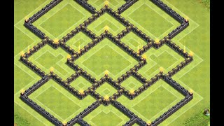 Clash of Clans: Townhall 9 FARMING Base ll The Velocity