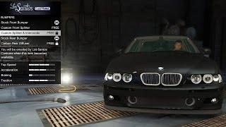 getlinkyoutube.com-GTA 5 BMW E39 M5 - Real Car Mods