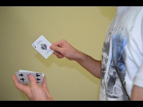 حركة المقص في تغيير أوراق اللعب