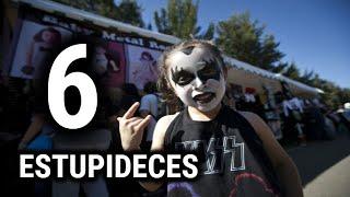 6 ESTUPIDECES  que la gente  piensa del ROCK Y EL METAL
