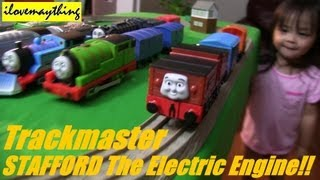 getlinkyoutube.com-STAFFORD the Electric Engine - Thomas and Friends Trackmaster Motorized Engines