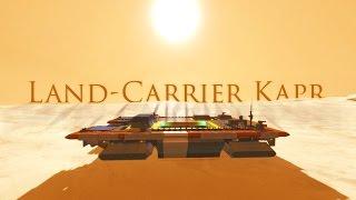 getlinkyoutube.com-Desert Winds | Land-Carrier Kapr | Space Engineers