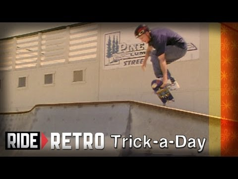 How-To Acid Drops & Bomb Drops with Tony Hawk & Mike Vallely - Retro Trick-a-Day