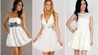 getlinkyoutube.com-Exclusivos vestidos blancos de fiesta ♥