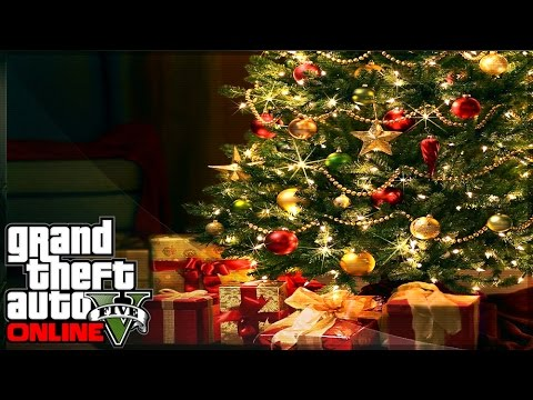 GTA 5 Online NEW Apartment Interior Holiday DLC! GTA 5 Festive Update (GTA V)