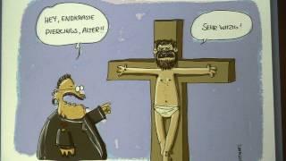 """getlinkyoutube.com-Religionskritische Bilder - Impressionen von der Preisverleihung """"Der freche Mario"""""""