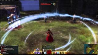 getlinkyoutube.com-GW2: Elementalist, All Weapon Skills & Abilities.